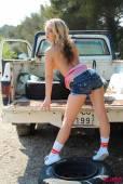 Candice-Collyer-Denim-Top-White-Thong-And-Little-Socks-b6vnr7uwc1.jpg