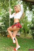 Rachel-Mcdonald-Strips-Nude-From-White-Top-And-Tartan-Mini-Skirt-r6voxcfspy.jpg