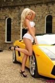 Madison Nicol White Lingerie In A Lamborghini-66vp0paf6e.jpg