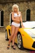 Madison Nicol White Lingerie In A Lamborghini-k6vp0pel7e.jpg